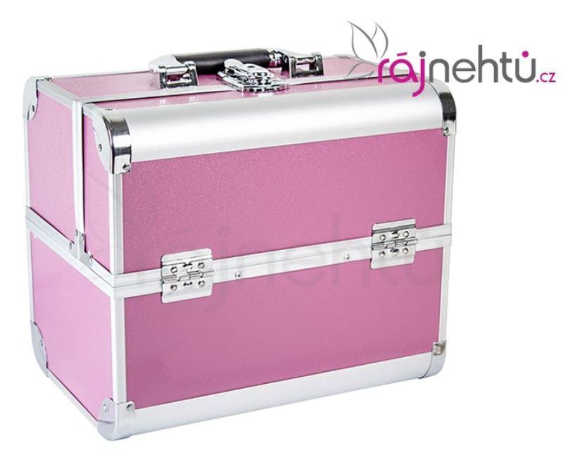 Kosmetický kufřík – růžový delight
